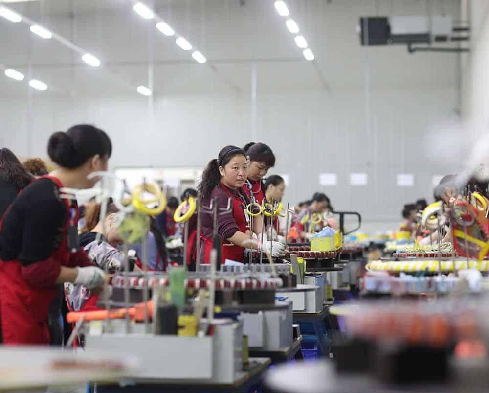 Kolmeks Chuzhou Kiinan tehdas
