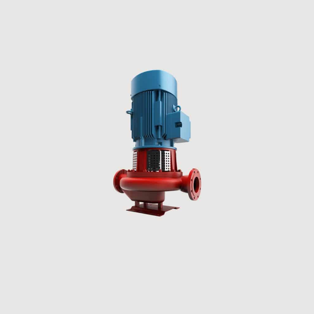 Pump with IEC motor